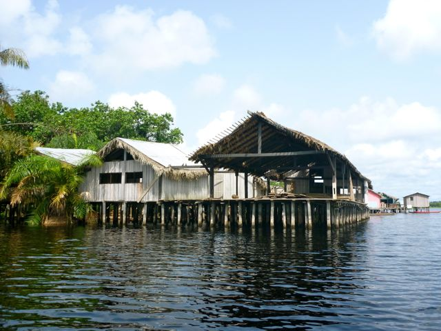 Nzulezu is one of the tourists sites located in the Western Region