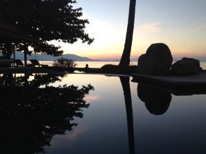 Ang Thong Villa At Sunset