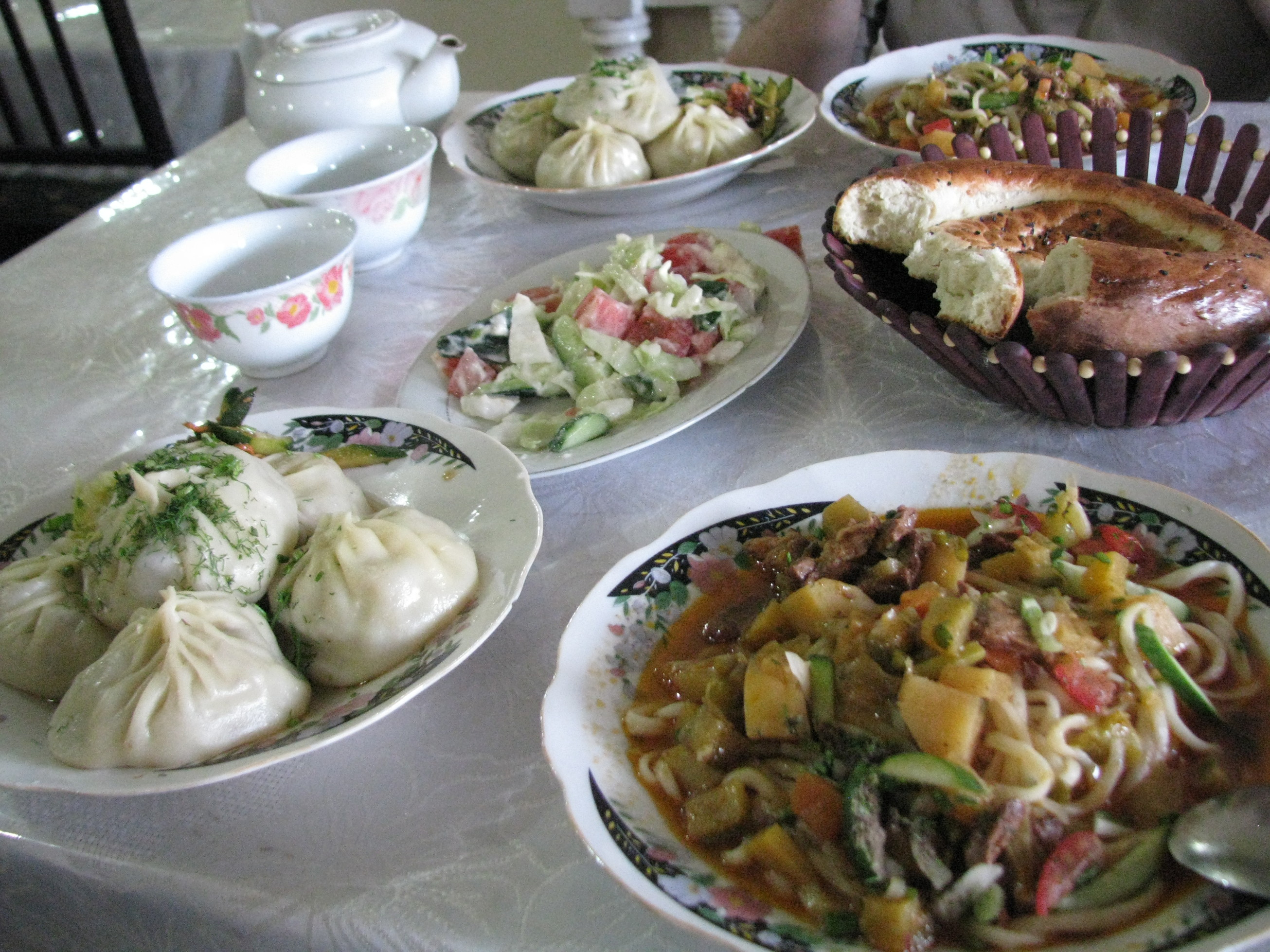 Central Asia Food